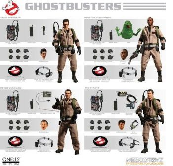 One :12 Collective Ghostbusters Deluxe Box Set